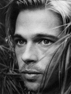 """Brad Pitt~Sexy! Did I say sexy ;)Loved his look in """"Legends of the Fall""""!"""