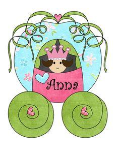 Personalized Princess TShirt or Onesie