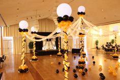 Balloon Decor Dance Floor! - by Merry Makers & Decorators LLC - Greeley Colorado.