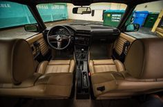 BMW E30 interior