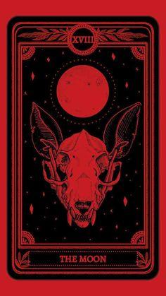 The Moon Tarot Wallpaper - iXpap