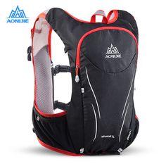 a3f7070c8352e kupować AONIJIE E906S 5L Zmodernizowane Odkryty Running Torby Plecaki  Maraton Kamizelki Odblaskowe Turystyka Rowerowa Plecak Hydration