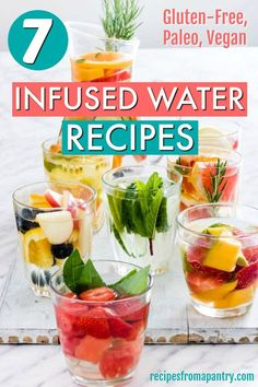Lower Excess Fat Rooster Recipes That Basically Prime Need A Little Help Drinking Water? At that point Let Me Show You How To Make 7 Infused Water Recipes With A Step-By-Step Image Tutorial Strawberry Infused Water, Cucumber Infused Water, Infused Water Recipes, Healthy Eating Tips, Healthy Nutrition, Healthy Food, Healthy Water, Instant Pot, Digestive Detox
