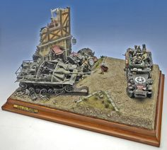 """1:35 scale """"After the Battle"""" 1997"""
