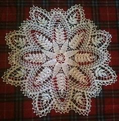 crochet ferns doily