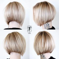 Graduated Bob Hairstyles Ideas for 2020 30 Beautiful and Classy Graduated Bob Haircuts Blonde Graduated Bob, Graduated Bob Hairstyles, Bob Hairstyles For Thick, Short Bob Haircuts, Graduated Haircut, Layered Hairstyle, Bangs Hairstyle, Hairstyles Haircuts, Trendy Hairstyles