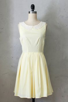 Fleet Collection | Etiquette Dress in Yellow. XS. NWT. Sample dress. $21