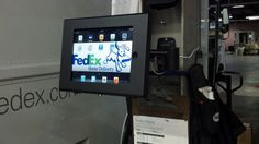 GVMG, an independent Fedex Home Delivery contractor in Staten Island, NY, recently installed iPad enclosures in their distribution facility, putting business process, Fedex, and mapping applications at their drivers finger tips, literally! http://www.ipadsimple.com