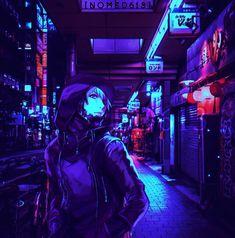 Cyberpunk Aesthetic, Arte Cyberpunk, Cyberpunk 2077, Hacker Art, Sci Fi Characters, Fictional Characters, Waves Background, Ghost In The Shell, Fantasy Character Design