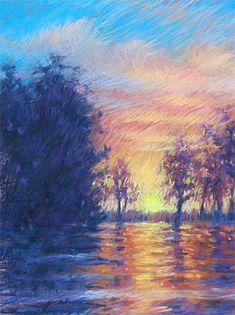 Pastel Painting Techniques by L. Diane Johnson