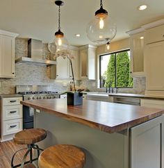 Transitional U-shaped Taupe kitchen, white cabinets, $20,000 - $50,000, Shauna Dean, Seattle