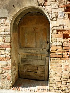 Some doors in Maremma Tuscany are really ancient ;) This one is in lovely Monteverdi Marittima.