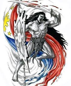 what do filipino tribal tattoos mean Traditional Filipino Tattoo, Filipino Art, Filipino Culture, Filipino Memes, Philippine Flag Wallpaper, Canada Tattoo, Images Wallpaper, Black Wallpaper, Tribal Warrior