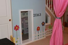under stairway playhouse...  @Kristie Phipps its a bit bigger than your space, but maybe some inspiration... :)
