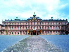 Schloss Rastatt, in Rastatt, Germany.