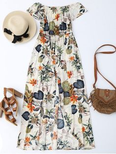 Pretty floral dress for Summer