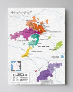 Our Wholesale Champagne is from different regions in France. The most important champagne regions are Vallee de la Marne, Montagne de Reims, Cote des Blancs & Cotes de Sezanne. Champagne France, Best Champagne, Champagne Region, Whisky, Wein Poster, Wine Folly, Wine Tasting Events, Wine Education, Spanish Wine
