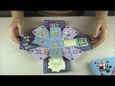 Caixa/cartao-surpresa - Exploding box scrapbook.wmv - YouTube