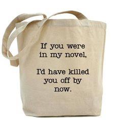 Killed You Off Tote Bag