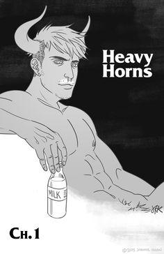 Heavy Horns | webcomic - agh i love the art!
