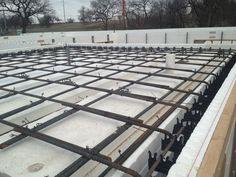 On Grade Icf Walls Wet Set Stemwalls With Tornado Shelter