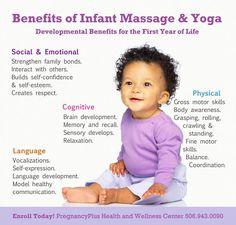 Infant Massage and Yoga Benefits Baby Massage, Prenatal Massage, Pregnancy Plus, Massage Quotes, Massage Benefits, Yoga Benefits, Massage Business, Reflexology Massage, Baby Yoga