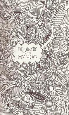 Chaos mental lunatic bizzare rotten basket case corrupted beautiful mind #dee