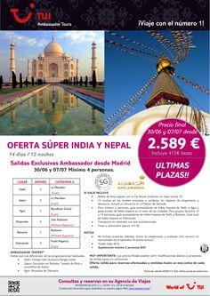 Oferta India y Nepal ¡Últimas plazas! Precio final desde 2.589€ - http://zocotours.com/oferta-india-y-nepal-ultimas-plazas-precio-final-desde-2-589e-6/