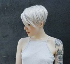 short sleek pixiecut