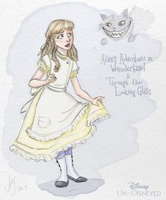 Disney Un-Disneyed: Alice (P) by kuabci.deviantart.com on @DeviantArt