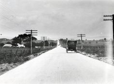Motorists enjoy the new road between Gettysburg and Chambersburg. (1921) http://ow.ly/r3EFG