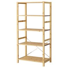 IVAR Shelving unit - IKEA -- For either side of our existing wardrobe -- More shelves than the other one