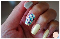 Nail art écaille avec des petits pois ! Nail art with scales made with dots