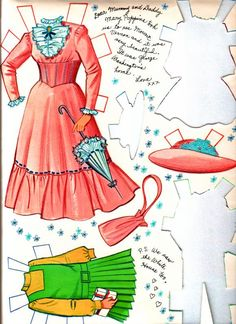 mary poppinss paper doll