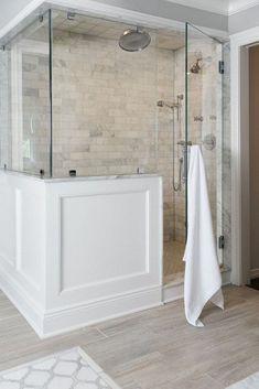 Wonderful Urban Farmhouse Master Bathroom Remodel (49)