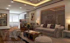 Thiết kế nội thất chung cư chị An Nguyễn Huy Tưởng hiện đại