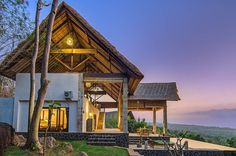 This elegant villa in Bali is surrounded by mango trees and endless ocean views. It's set on a remote, less touristy part of the island. Watch the seascape from your private infinity pool, or take an excursion to nearby waterfalls and temples.