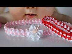 diadema trenzada para bebe VOLUMEN 4 - YouTube