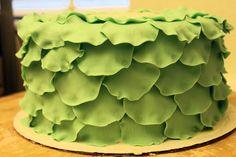 Petal cake tutorial - by WhiskMeAwayCakes @ CakesDecor.com - cake decorating website