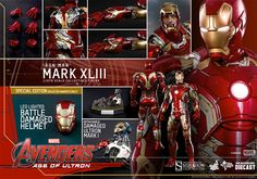 Iron Man Mark XLIII Sixth-Scale Figure