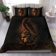 Are you looking for unique bedding sets for adults? We got you covered. All of our bedding sets have unique designs such as gothic bedding sets, skull bedding sets and more. Our bedding sets are super-soft, comfortable, and perfect for any season. Each bedding set comes with a duvet cover and 2 pillow covers. Blue Bedding Sets, Queen Bedding Sets, Gothic Bed, Bed Sheets, Comforters, Duvet Covers, Pillow Cases, Pillows, Unique Bedding