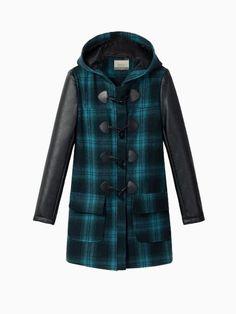 Fur Trim Hooded Duffle Coat | Burberry | 'Fluff' | Pinterest ...