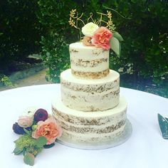 Naked Cake by Michelle Marie's Patisserie