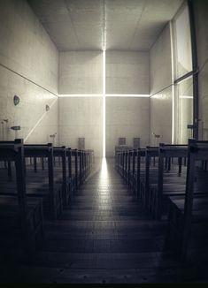 ArtStation - Tadao Ando Church of Light, Nathan Dearsley