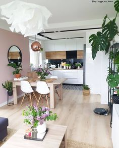 Interior Home Design Trends For 2020 - Ideas Kitchen Room Design, Home Room Design, Home Decor Kitchen, Living Room Designs, Living Room Decor, House Design, Small Apartment Interior, Apartment Design, Table Design