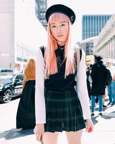Asian Street Style, Japanese Street Fashion, Asian Style, Korean Fashion, Harajuku Fashion, Japan Fashion, Kawaii Fashion, Outfits Otoño, Fashion Outfits