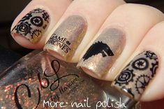 36 Best Game of Thrones Nail Art Designs images in 2016 | Nails ...