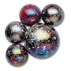 Jupiter marbles (24 mibs + 1 shooter!)