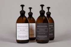 Minimal bathroom essentials. Men's grooming products.