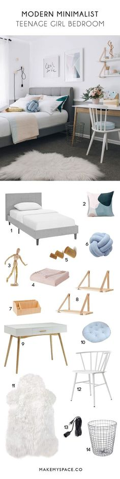 Teen girl bedrooms, check out this pin for one total magical bedroom makeover, example number 1869085072 Bedroom Furniture Redo, Diy Bedroom Decor, Bedroom Ideas, Bedroom Organization Diy, Woman Bedroom, Modern Bedroom Design, Modern Design, Teen Girl Bedrooms, Bedroom Vintage